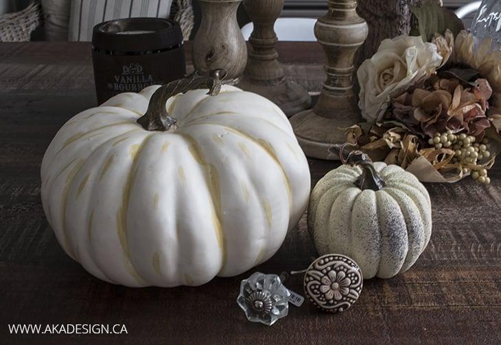 Fancy Faux Pumpkin Supplies AKA Design