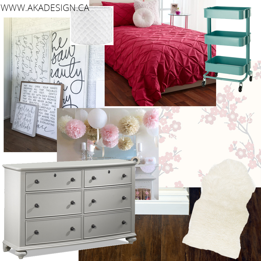Lillian's Room Mood Board
