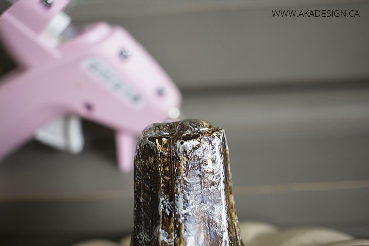hot glue stem