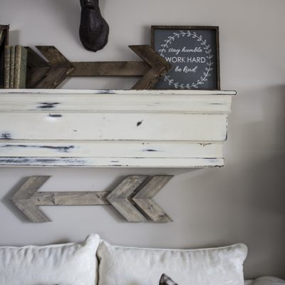 Build This Mantel Shelf For YOUR House!