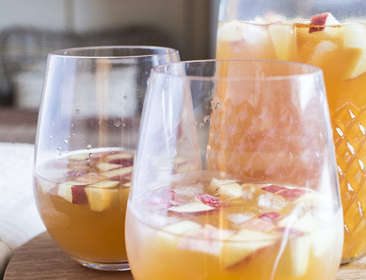 Caramel Apple Sangria 1