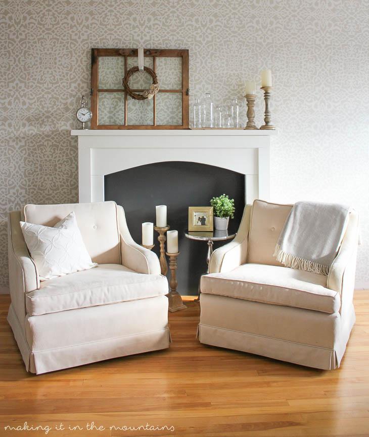 Fireplace Design faux fireplace : Faux Fireplace