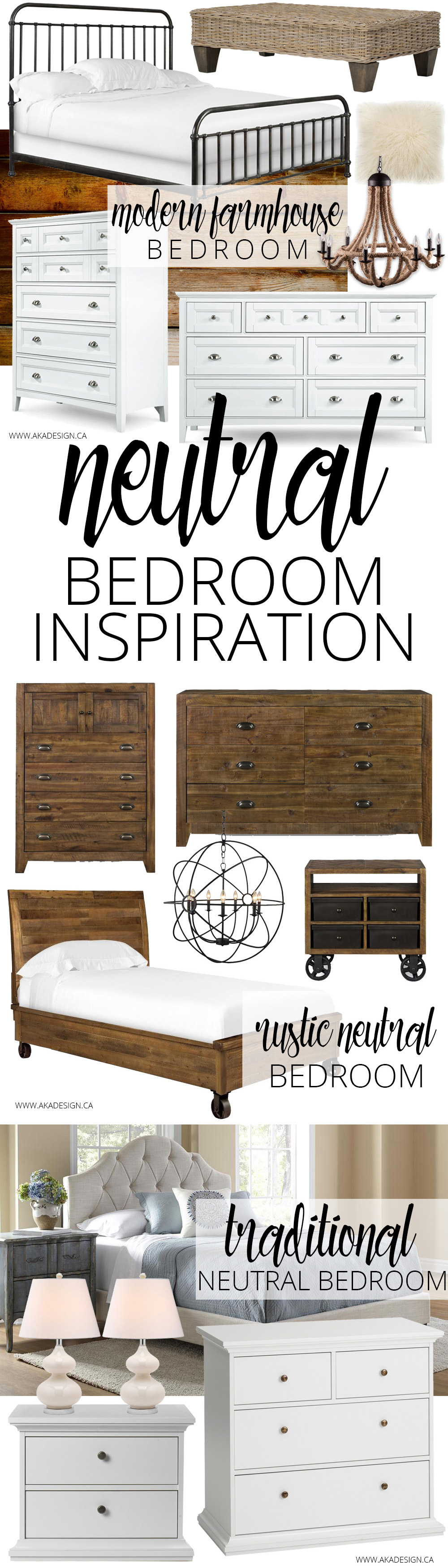Neutral Bedroom Inspiration long