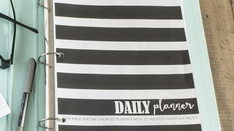 AKA DESIGN DAILY PLANNER PRINTABLE PDF