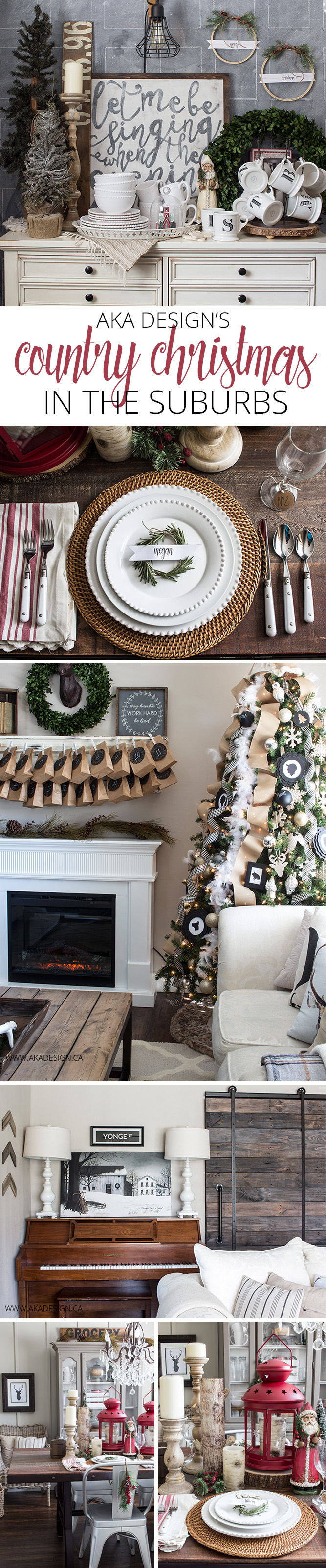 AKA Design Country Christmas Home Tour