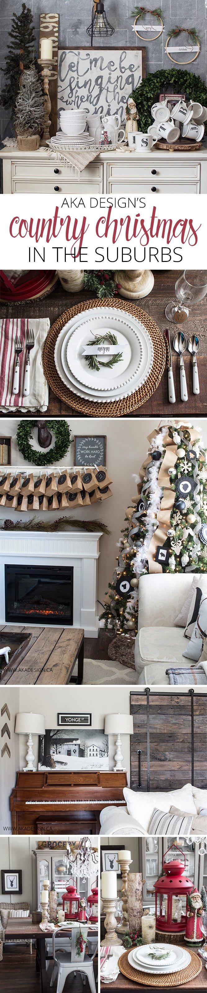 AKA Design Country Christmas Home Tour