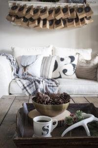 10 minute decorating - scented pinecones