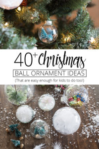 40 christmas ball ornament ideas