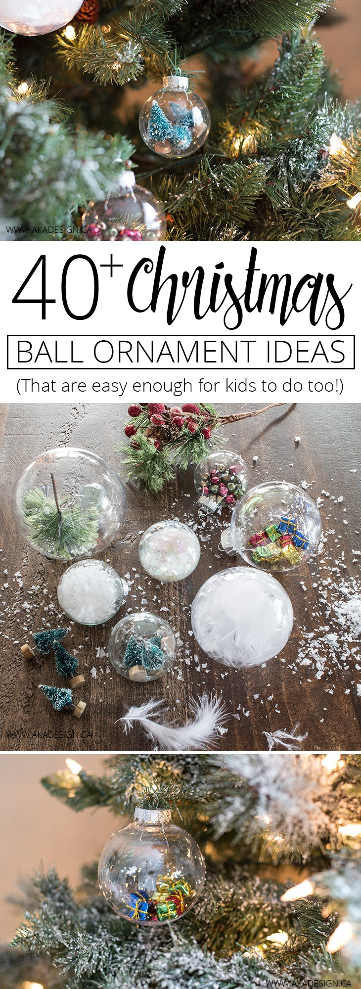 40 christmas ball ornament ideas for you to try this year for Ball decoration ideas