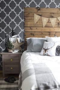 AKA Design master bedroom Christmas 2015