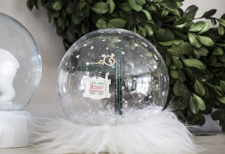 Glam Christmas Snow Globe Craft
