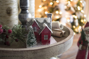 mini christmas house