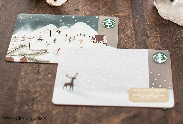 win one of two fifty dollar starbucks gift cards