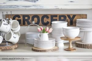 Birch Lane White Dinnerware Anthropologie Monogrammed Mugs