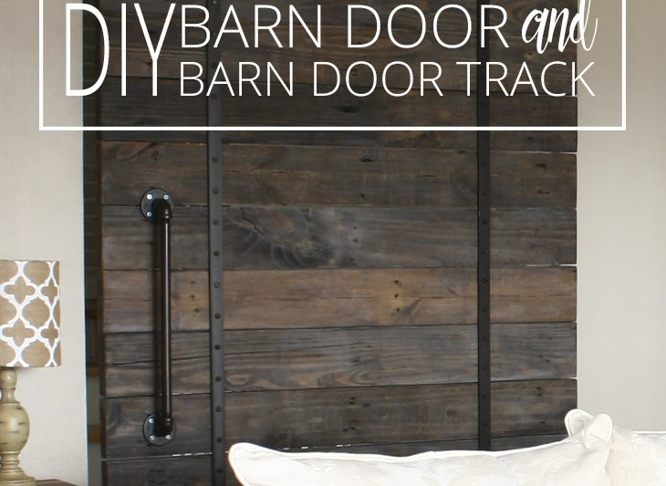 DIY BARN DOOR AND BARN DOOR TRACK