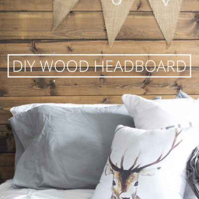 How to Make a Reclaimed Wood Headboard With New Wood For Less Than $50