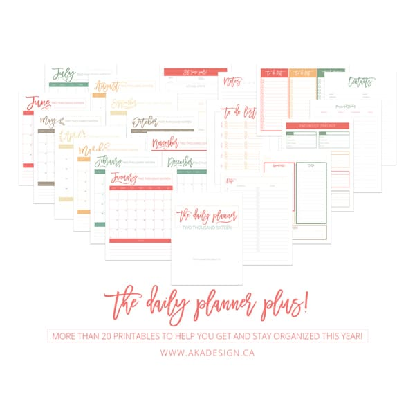 The Daily Planner Pages Shop Image JPG