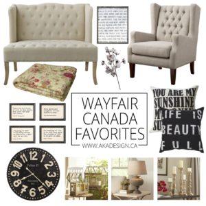 Wayfair Canada Favorites