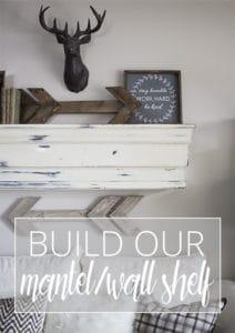build our mantel wall shelf sidebar