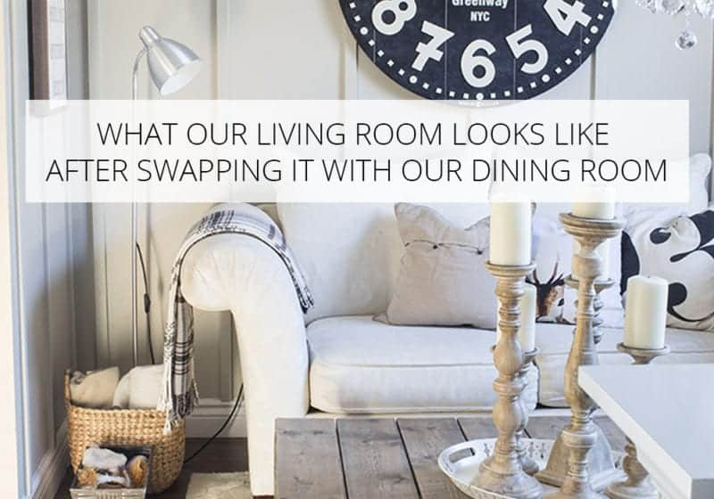 swapping the living and dining rooms