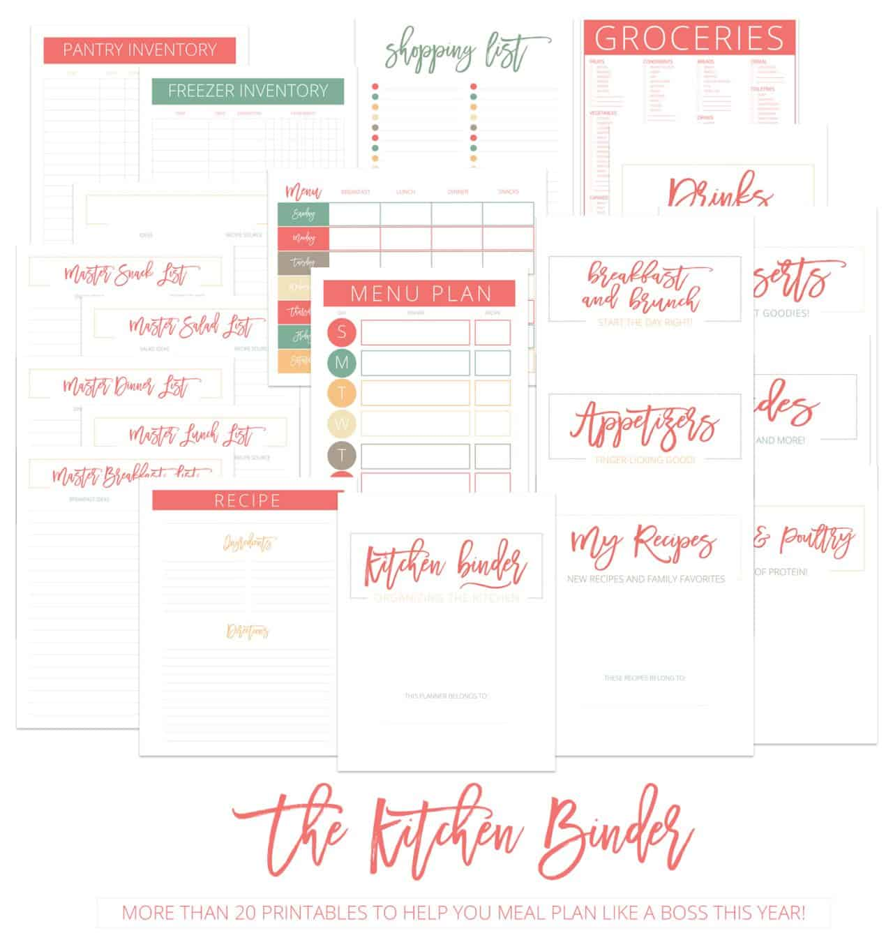 the kitchen binder for post