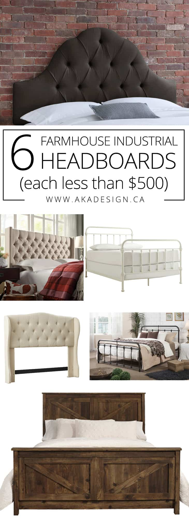 10 Farmhouse Beds for Under $500