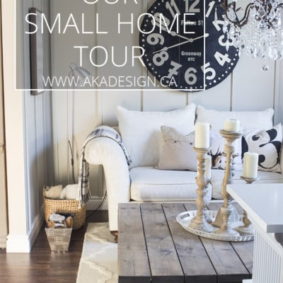 Our Small House Tour