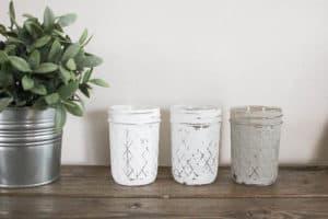 Mason Jar Vases   makingitinthemountains.com