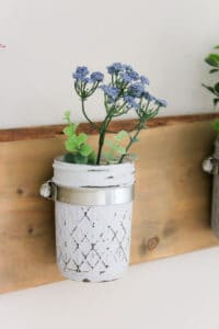 Mason Jar Vases | makingitinthemountains.com