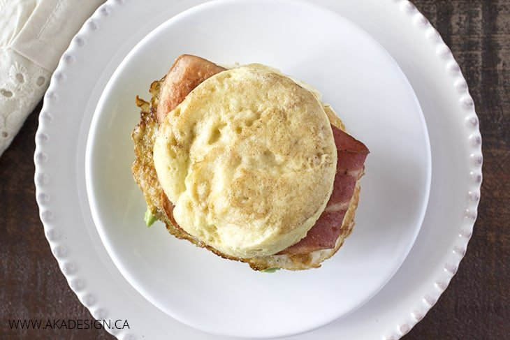 Paleo English Muffin Breakfast Sandwiches
