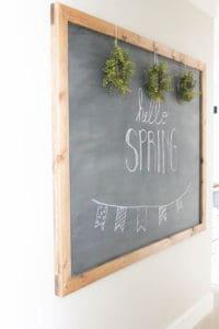 DIY Chalkboard