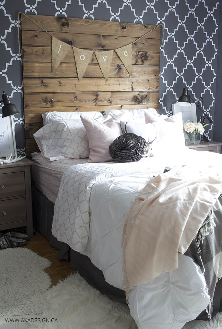 Master Bedroom Refresh with Blush Pink Master