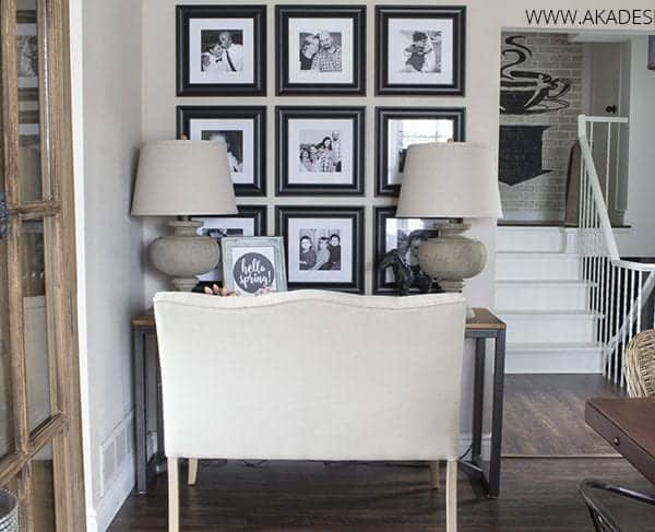 Elegant Home Office Area in the Dining Room