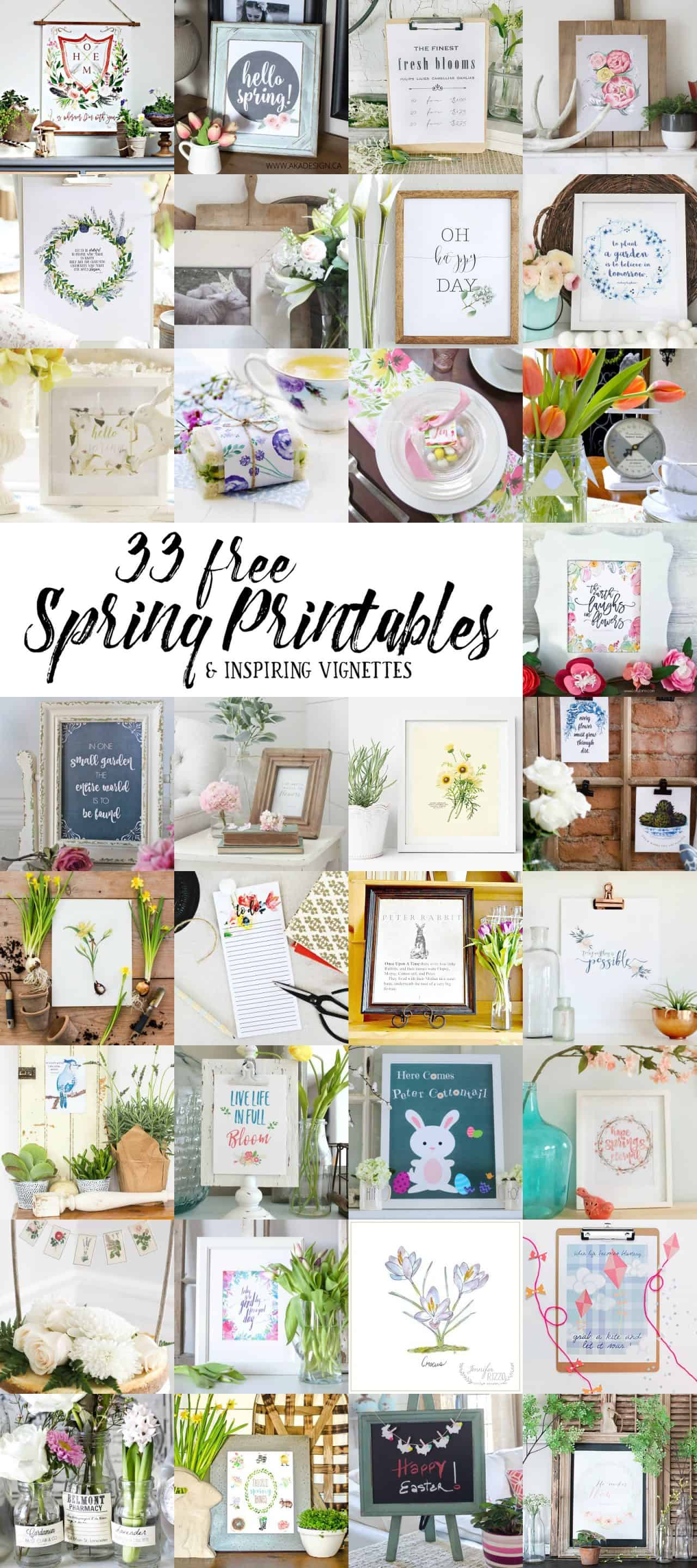 http://akadesign.ca/how-to-create-a-vignette-and-hello-spring-free-printable/