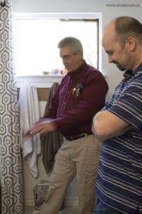 Bath Fitter Gary and AKA Design Dean