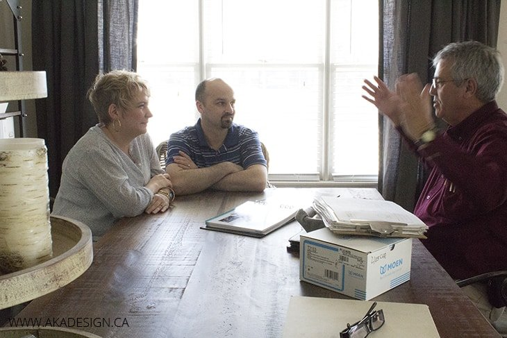 Dean and Shannon Consult with Gary