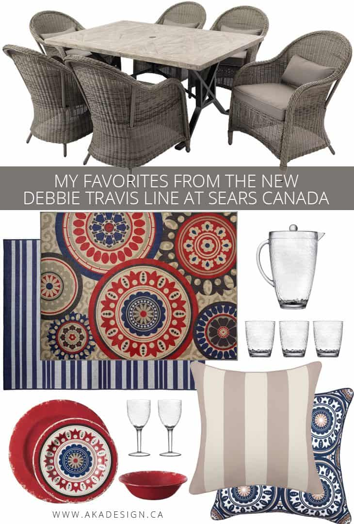 My favorites from the new Debbie Travis Line at Sears Canada