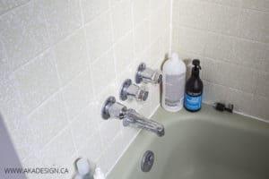 bath faucet before