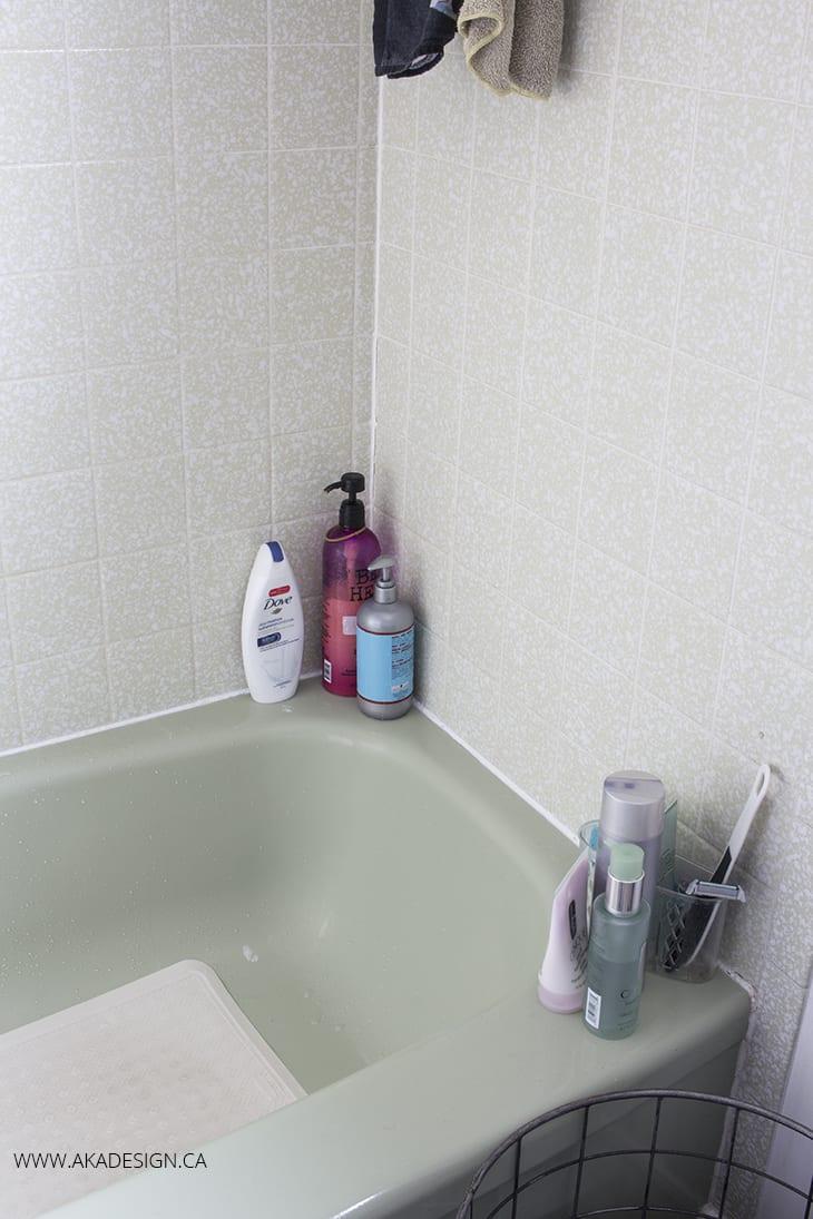 tub before