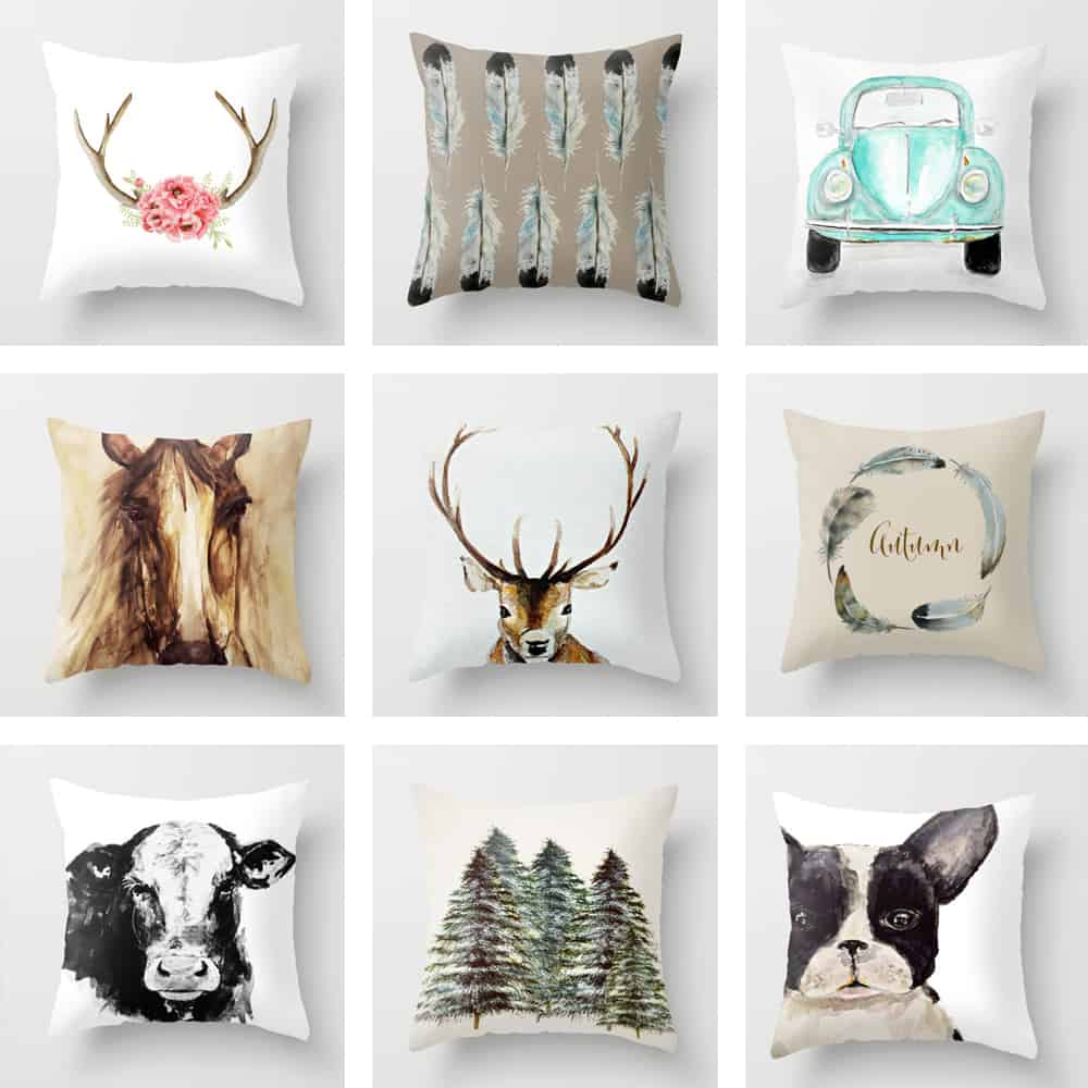 Craftberry Bush Throw Pillows