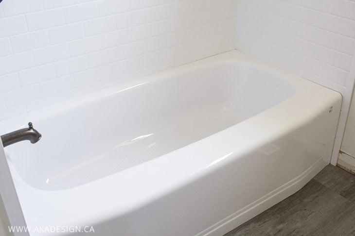 bath tub install 3