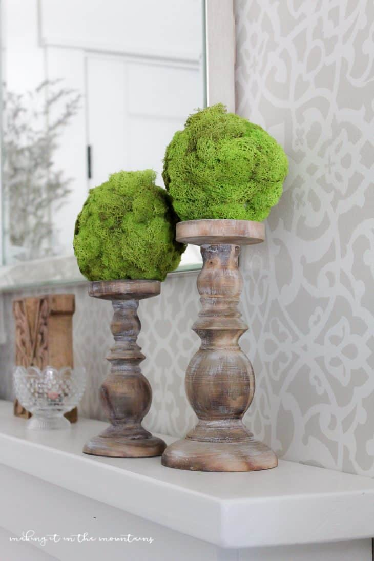 Diy Moss Topiary Balls How To Make A Topiary