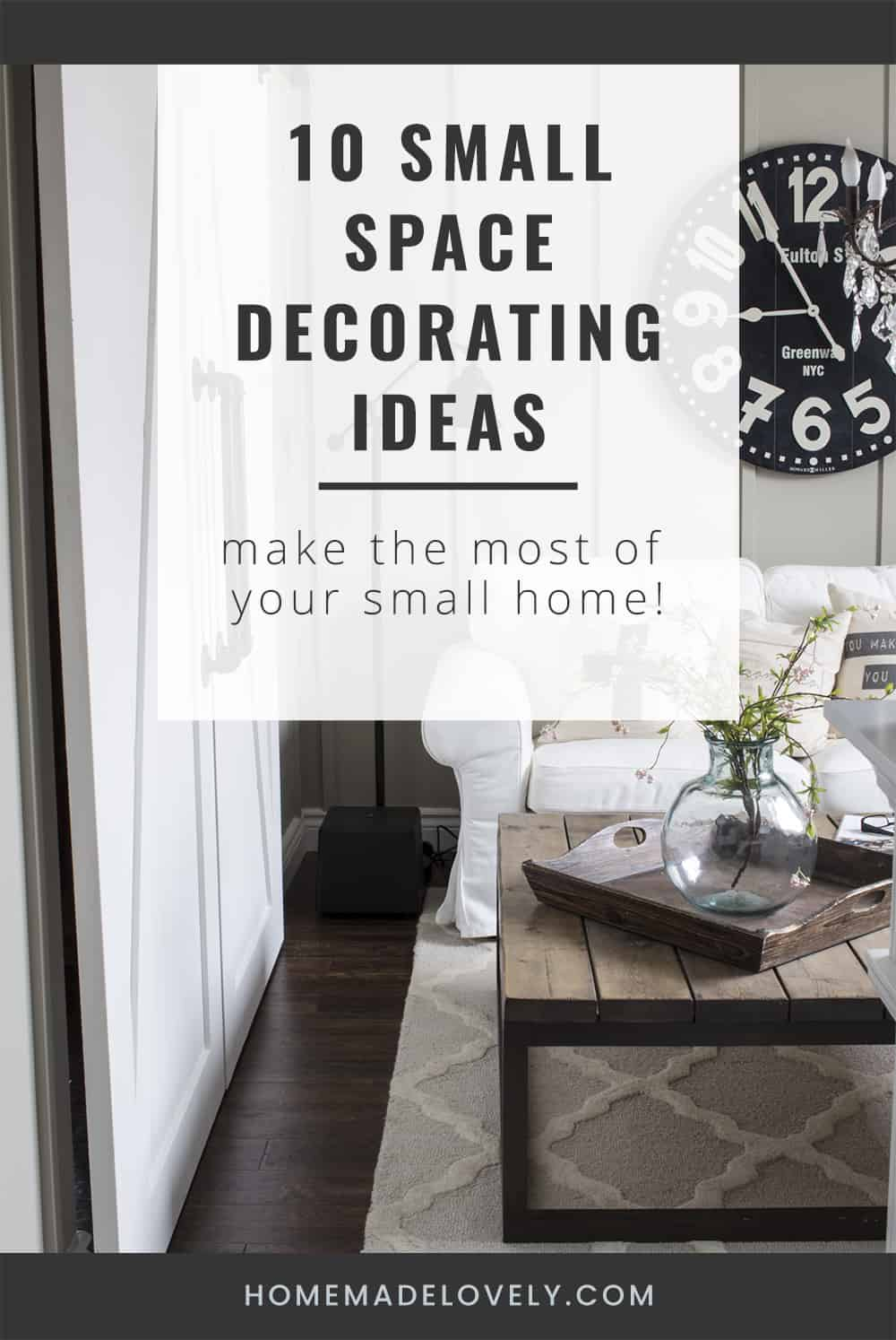 10 Small Space Decorating Ideas You Can Steal For Your Home