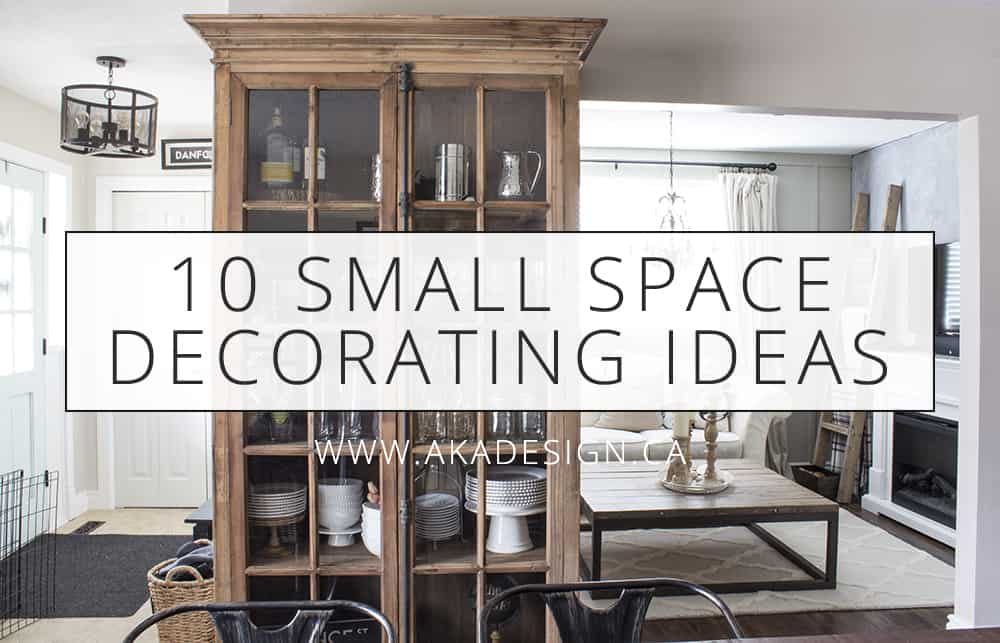 10 small space decorating ideas - Home Decorating Ideas Small Spaces