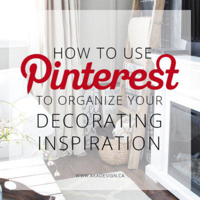 How to Use Pinterest to Organize (and Shop) Your Decorating Inspiration