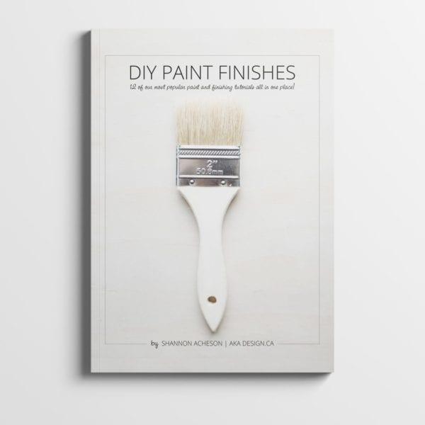 DIY Paint Finishes Mockup