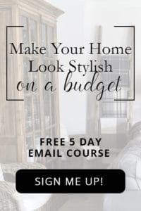 free budget decorating email course