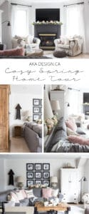 AKA Design Cozy Spring Home Tour