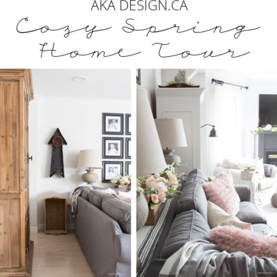 Cozy Spring Home Tour (Part 1)