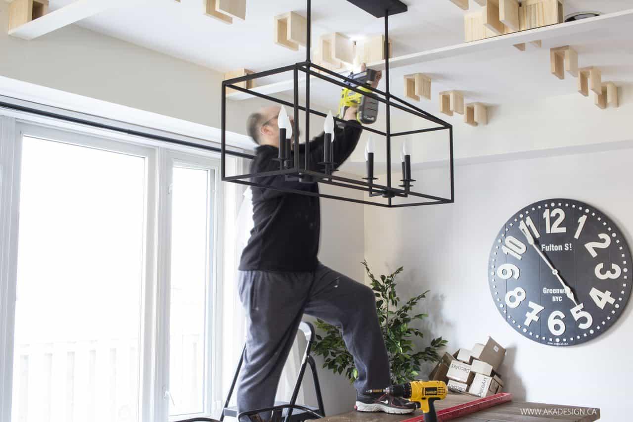 Dean Nail Gun Ceiling